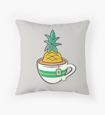 TeaHC Throw Pillow