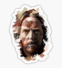 Paint-Stroked Portrait of Musician and Comedian, Tim Minchin Sticker