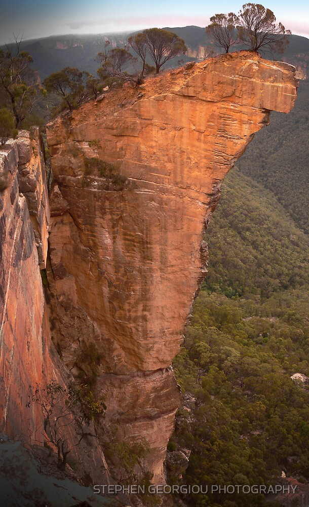 Not one stone will stand upon another (Hanging Rock in the Lords Blue Mountains) by STEPHEN GEORGIOU PHOTOGRAPHY