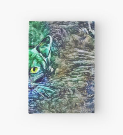 Maritime cat Hardcover Journal