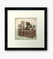 Bearocrat Framed Print