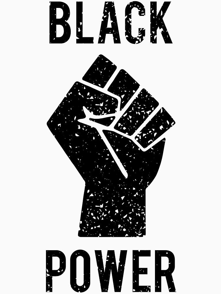 Puño de poder negro de almosthillwood
