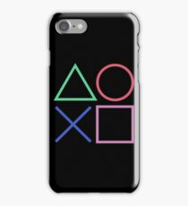 Playstation 4 D Pad iPhone Case/Skin