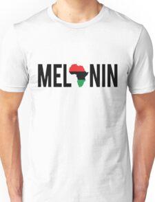 Melanin Africa Black Unisex T-Shirt