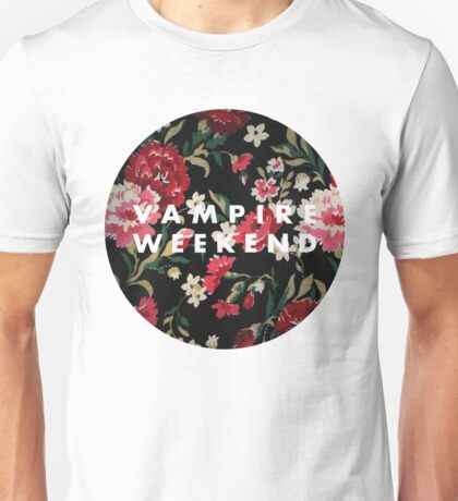 Vampire Weekend Floral Unisex T-Shirt