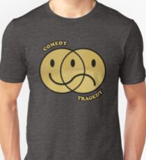 Comedy Tragedy Smiley T-Shirt
