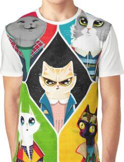 Stranger Cats Graphic T-Shirt