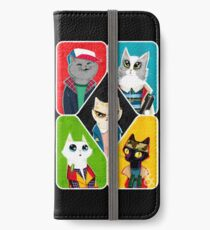 Stranger Cats iPhone Wallet/Case/Skin