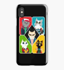Stranger Cats iPhone Case/Skin