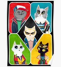 Stranger Cats Poster