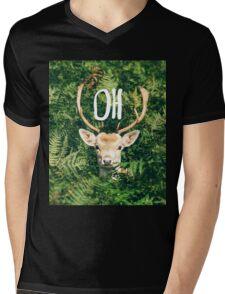 Oh Deer  Mens V-Neck T-Shirt