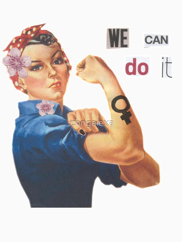 "Rosie the Riveter ""We Can Do It"" by chngalexa"