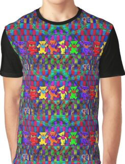 Dancing Teddy Bears Graphic T-Shirt
