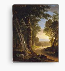Asher Brown Durand - The Beeches Canvas Print