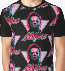 Michael Myers Stay Rad Graphic T-Shirt