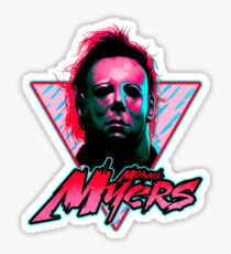Michael Myers Stay Rad Sticker