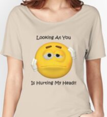 Hurting Head Tee Women's Relaxed Fit T-Shirt