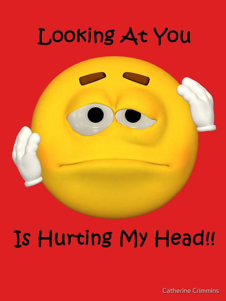 Hurting Head Tee by catsbacknc