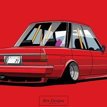 Toyota MarkII Shakotan by RexDesigns