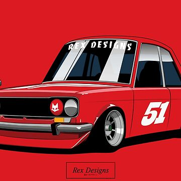 Datsun Bluebird 510 Shakotan by RexDesigns