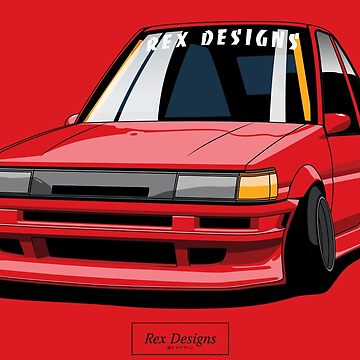 Toyota Corolla AE86 Levin Shakotan by RexDesigns