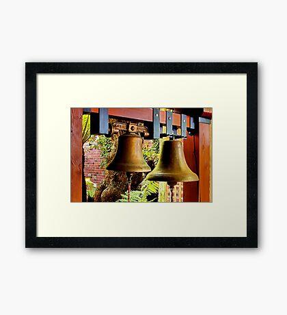 """""""The Mission Bells"""" Framed Print"""