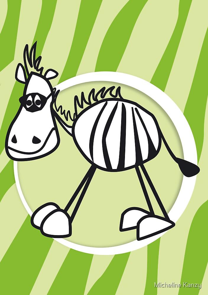 zorro the zebra by Micheline Kanzy