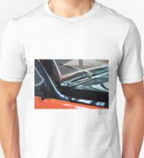Detail of car windscreen and shining hood Unisex T-Shirt