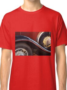 Detail of vintage car wheels Classic T-Shirt