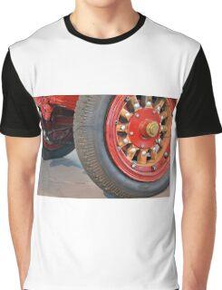 Detail of vintage car wheels Graphic T-Shirt