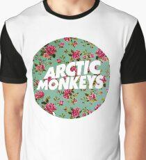 Arctic Monkeys | Flower Circle Graphic T-Shirt