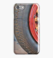 Detail of vintage car wheels iPhone Case/Skin