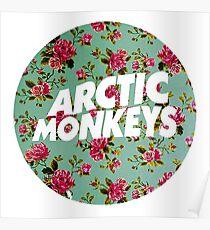 Arctic Monkeys | Flower Circle Poster