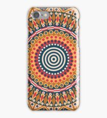 Round ethnic pattern iPhone Case/Skin