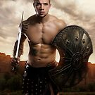 Archilles - gods and warriors series by dreamonix