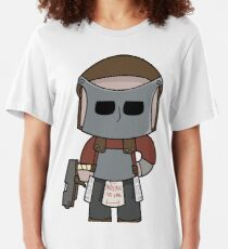 Rust Character in full gear! Slim Fit T-Shirt