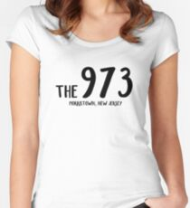 the 973 Women's Fitted Scoop T-Shirt