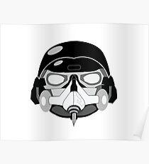 Gasket Mask Poster