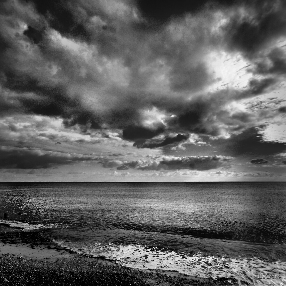 Clouds over Clymping by LeCroix