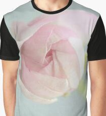 Soft Pink Bud Graphic T-Shirt