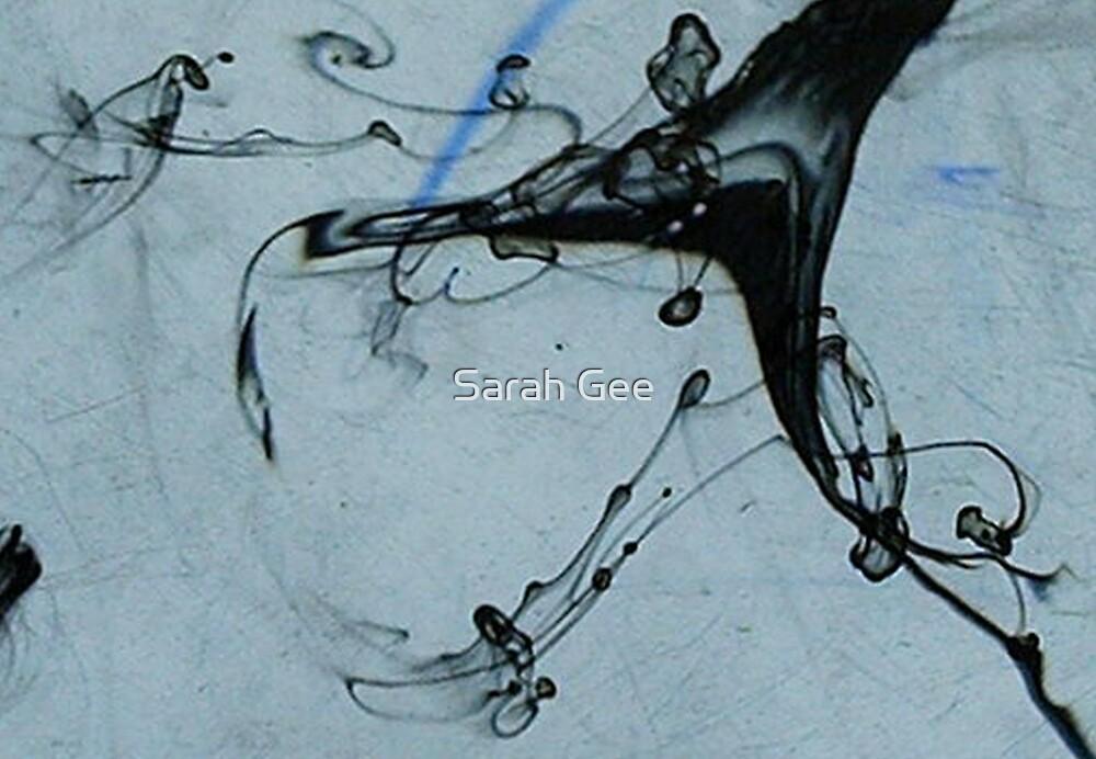 Ink swirls by Sarah Gee