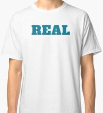 Real T-Shirt in Teal Classic T-Shirt