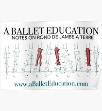 Notes on Rond De Jambe Poster