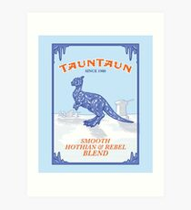 Tauntaun Lights Art Print