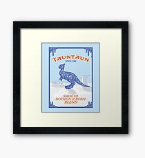 Tauntaun Lights Framed Print