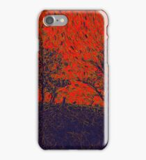 Forest Fire by Sarah Kirk iPhone Case/Skin
