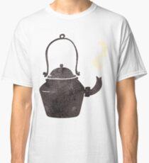 retro cartoon old black kettle Classic T-Shirt