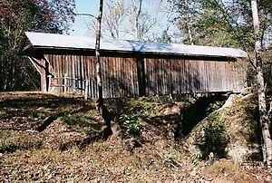 Bunkerhill Covered Bridge by Laura Howard