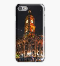 Melbourne Town Hall one Saturday night iPhone Case/Skin