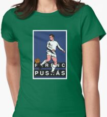puskas real madrid Womens Fitted T-Shirt